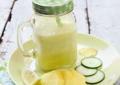 ricetta di shake verde per la perdita di pesona