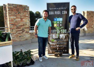 Valerio e Lorenzo fondatori di Youfarmer